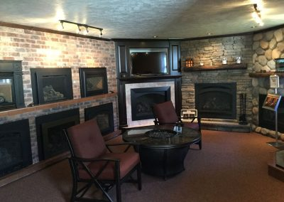 Fireplace Inserts Display Room