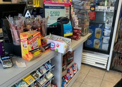 Gas Station counter