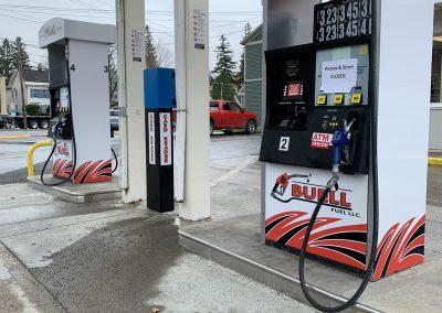 Morrisville Store Gas Pumps
