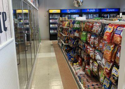 Morrisville Store Shelves